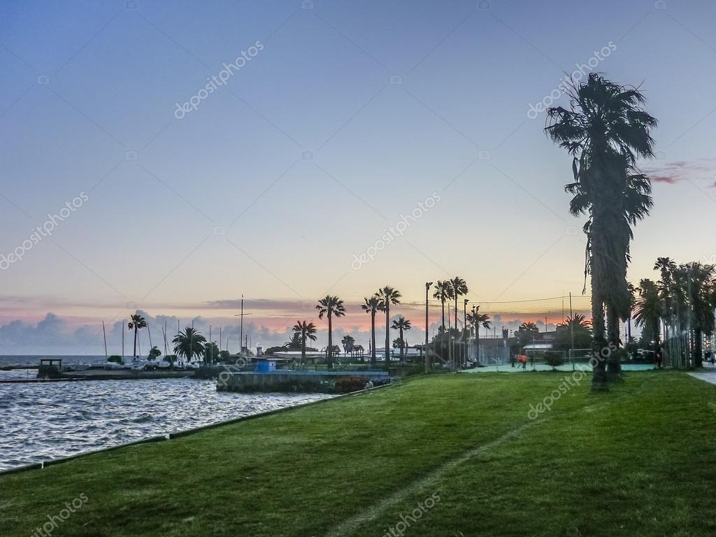 Landscape Coast of Montevideo