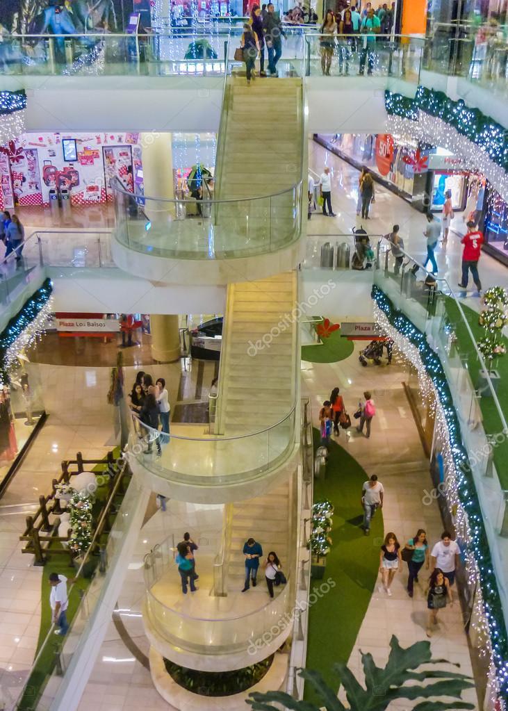 Medellin Shopping Mall Interior