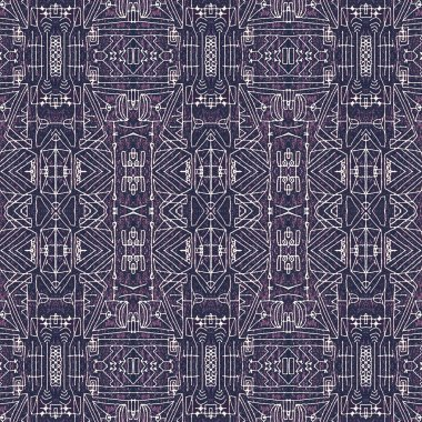 Seamless Tribal Background Pattern