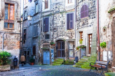 authentic charming medieval villages of Italy