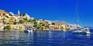 Holidays in beautiful Greek islands, Symi