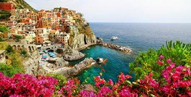 Manarola- beautiful village in Cinque terre, Liguria, Italy