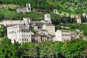 középkori Olaszország sorozat - Gubbio, Umbria