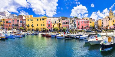 colors of mediterranean series - Procida island, Italy