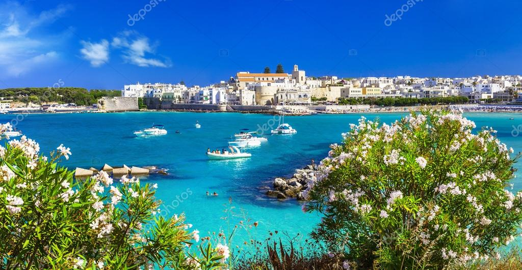 Italian vacation - Otranto in Puglia with cristal waters
