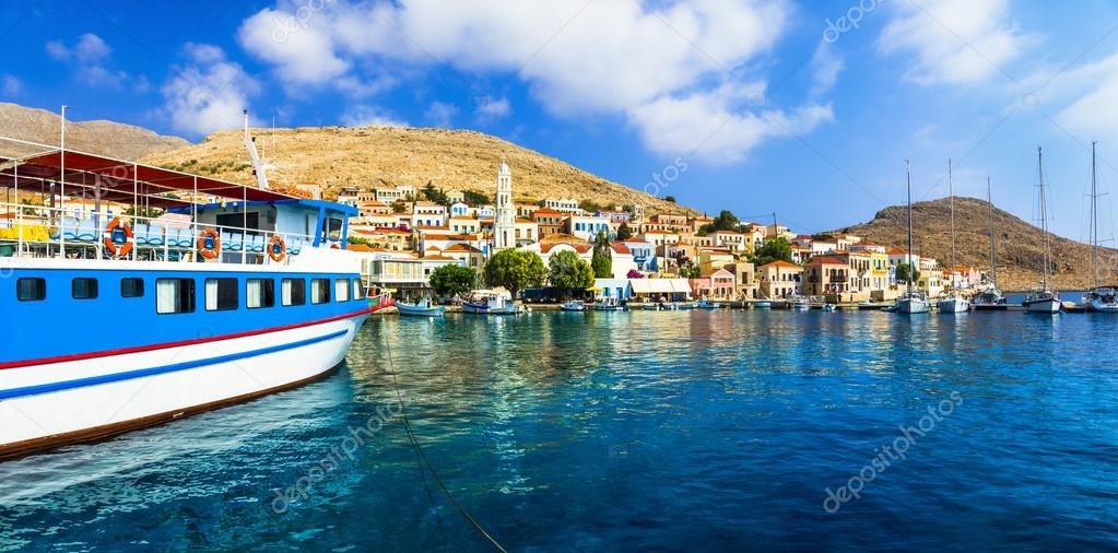 beautiful Islands of Greece - authentic Chalki (Dodecanese)