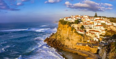 Azenhas do Mar - pictorial village in Atlantic coast of Portugal