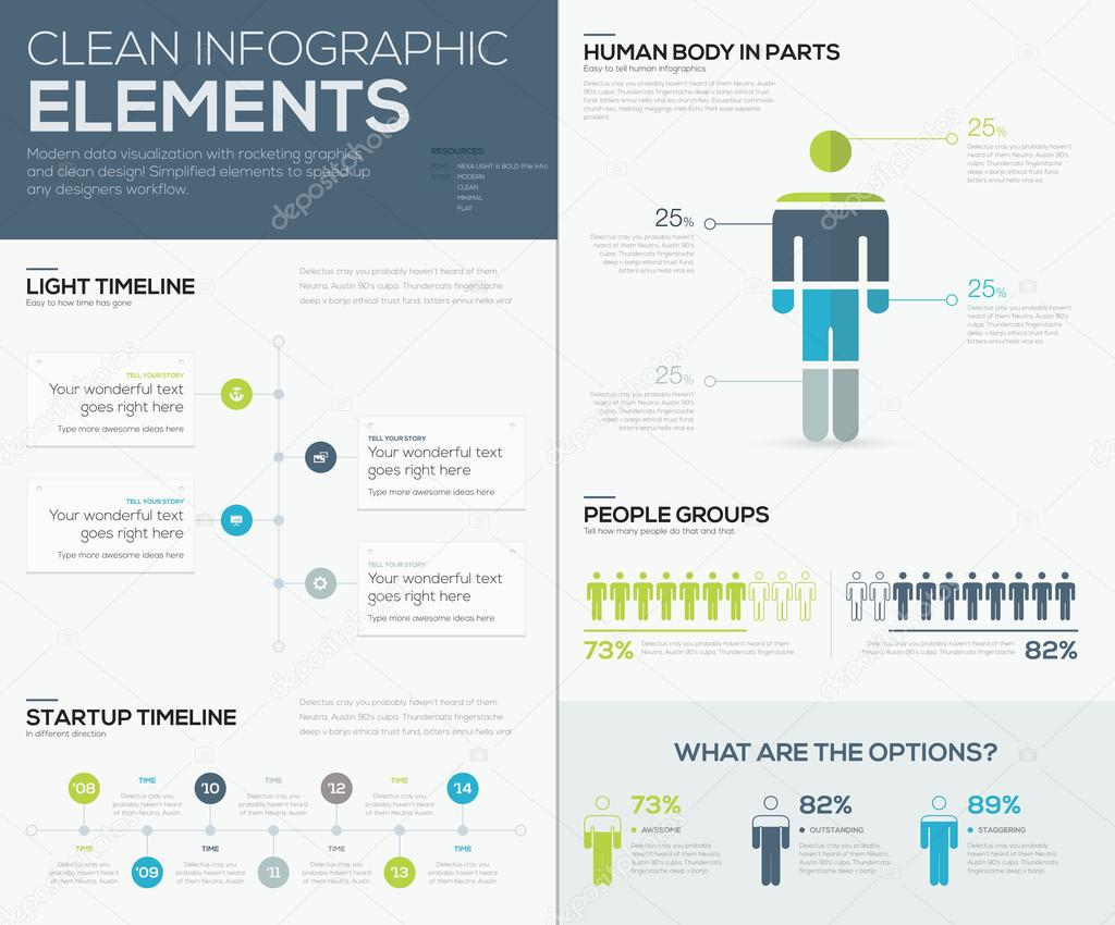 Green and blue infographic data visualization vector elements green and blue infographic data visualization vector elements stock vector publicscrutiny Images