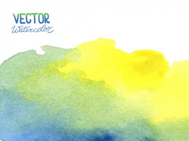Abstract watercolor background for your design. Eps 8 vector clip art vector