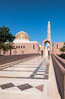 Main entrance for men Sultan Qaboos Mosque, Muscat, Oman