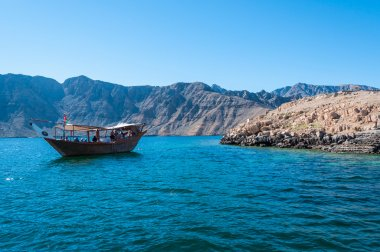 Dhow in Gulf of Oman, Musandam, Oman