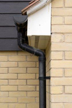Roof Guttering closeup