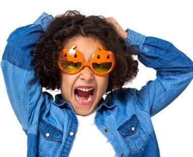 Halloween little girl