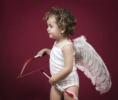 Cupid little girl