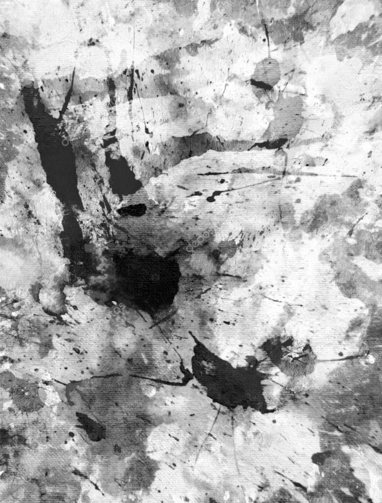 Pintura Preto E Branco Da Arte Abstrata Fotografias De