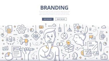 Branding Doodle Concept