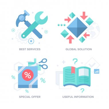 Business Offer. Abstract Features Concepts