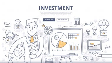 Investment Doodle Concept