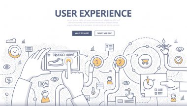 User Experience Doodle Concept
