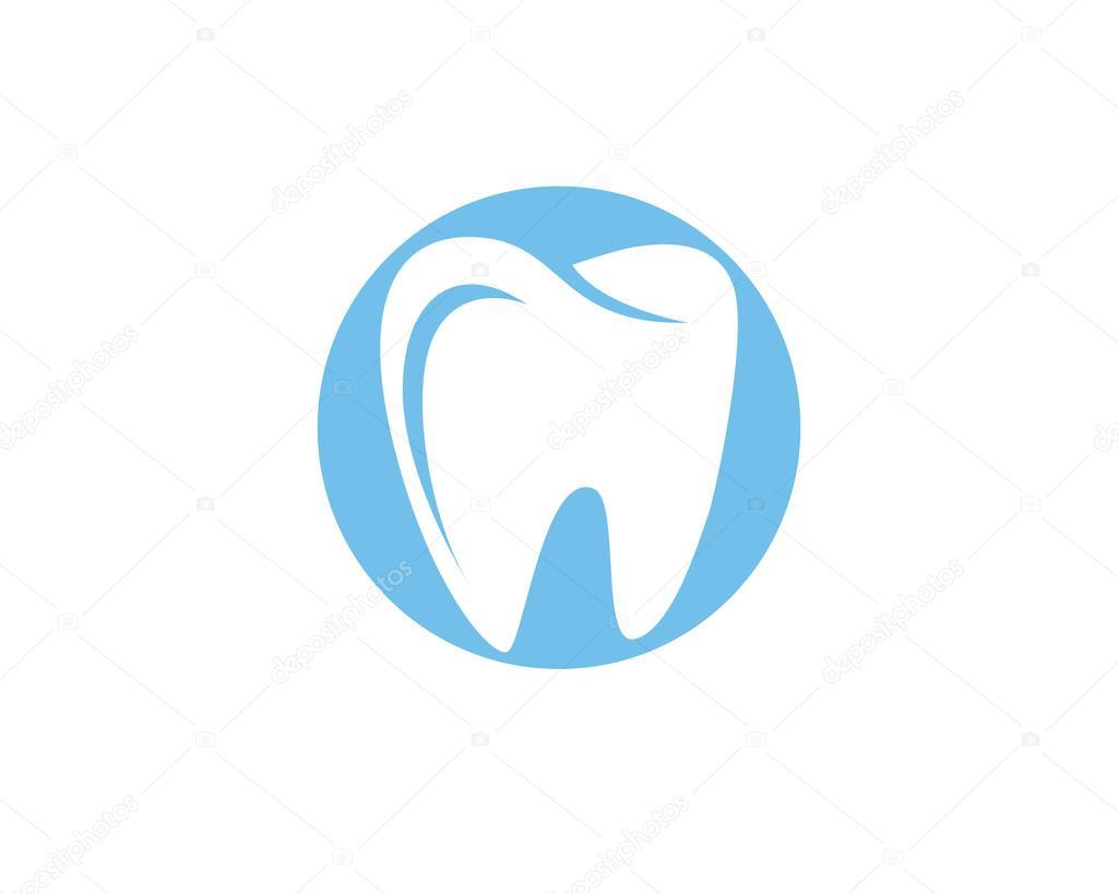 dental logo template healthy business stock vector elaelo 100947364