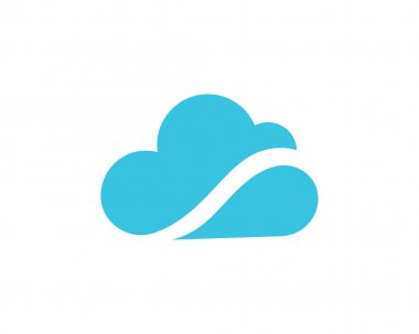 Cloud logo simple