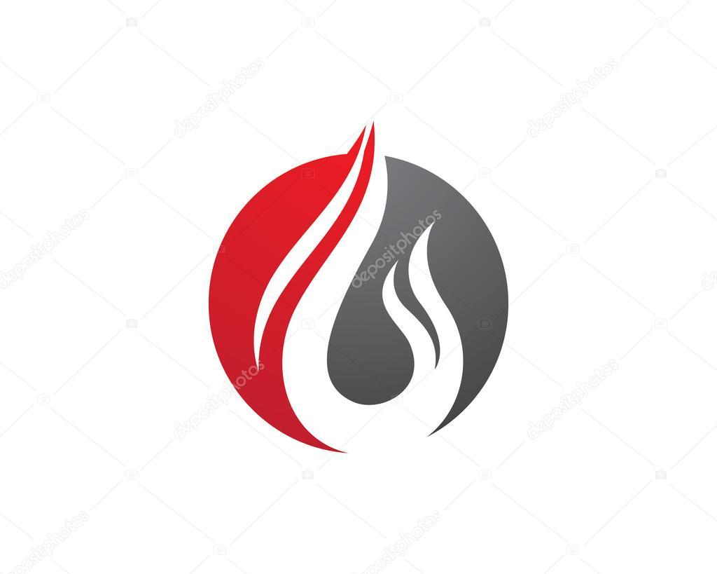 fire flame logo template stock vector elaelo 105177548