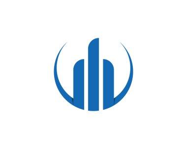 Finance logo block template