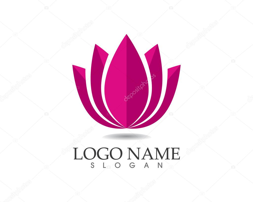 Beauty women logo spa and salon