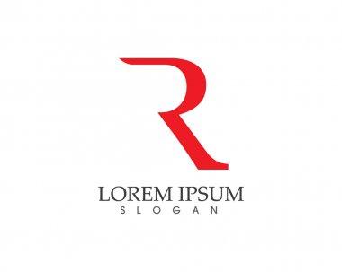 R letter logo R