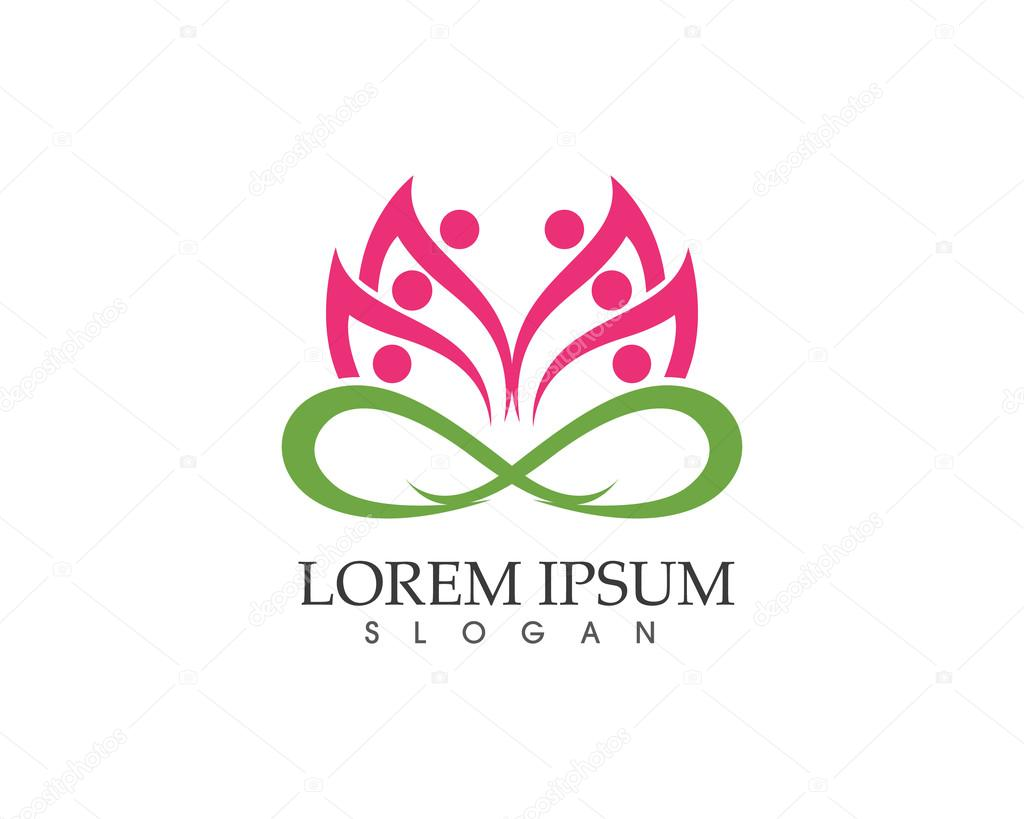 Lotus flower spa and health logo stock vector elaelo 111499324 lotus flower spa and health logo stock vector izmirmasajfo
