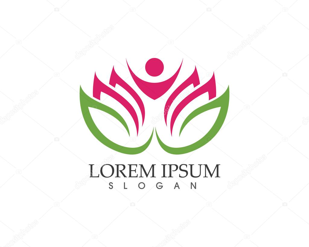 Lotus flower spa and health logo stock vector elaelo 111499592 lotus flower spa and health logo stock vector izmirmasajfo Gallery