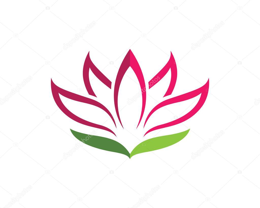 Fiore di loto logo