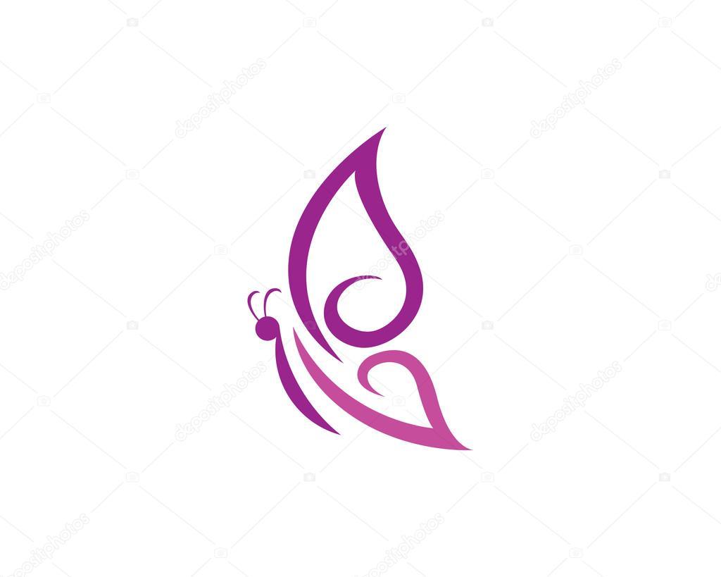 plantilla de logotipo de mariposa vector de stock  u00a9 elaelo 120242428 clip art butterfly images clip art butterflies black and white