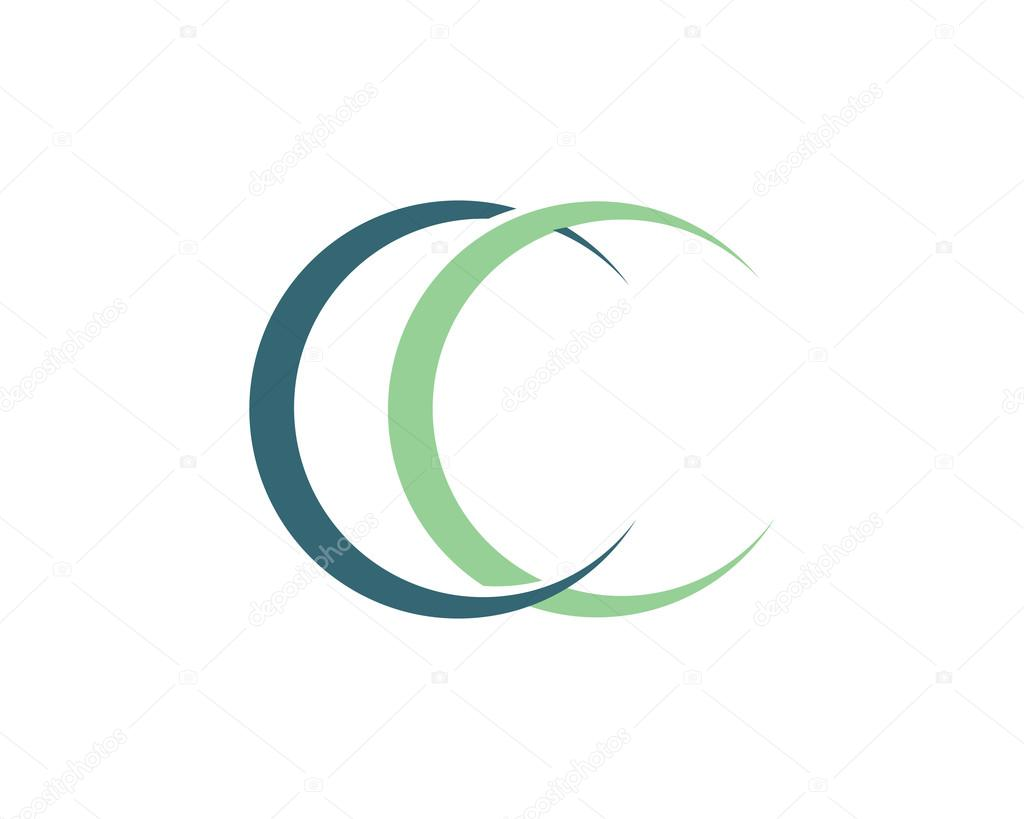 Cc Letter Symbol And Lgo  Stock Vector  Elaelo