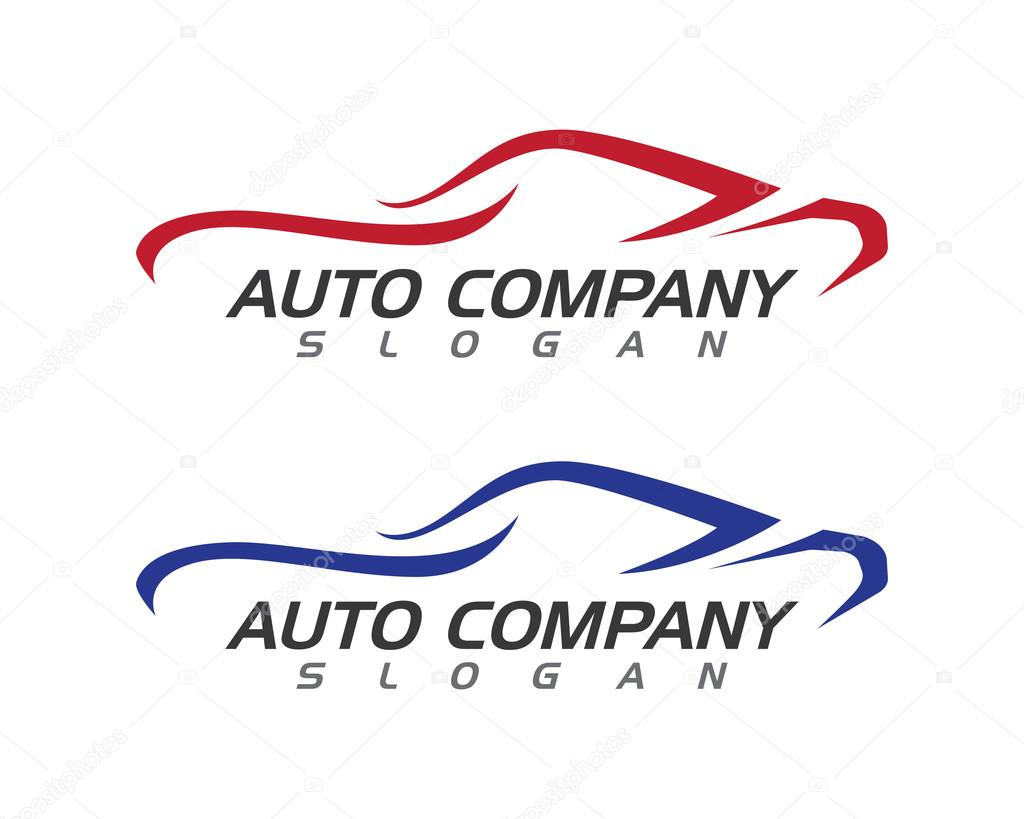 Auto Auto Logo Vorlage — Stockvektor © elaelo #124546366