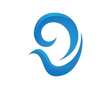D Hearing Logo