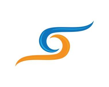 S Wave Logo
