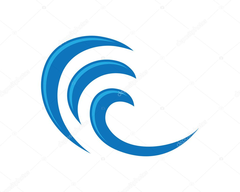 Beach wave Logo
