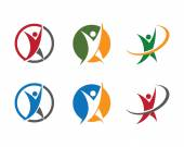 Fotografia Healty succes logo per azienda