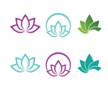 logo and other flower