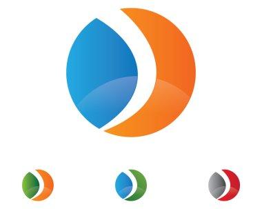 Letter logo sample template
