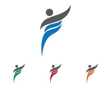 TRaining people logo template