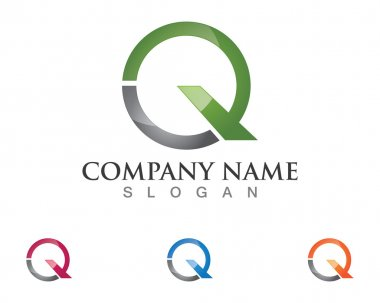 Q logo template