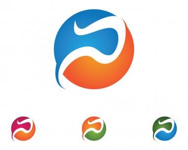 P shape cycle logo