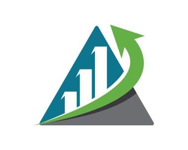 Finance logo or grass