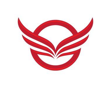 bird logo wings
