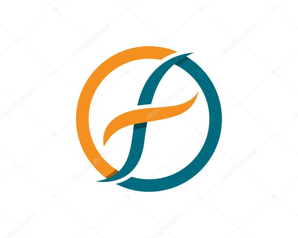 f letter logo template � stock vector 169 elaelo 87436014