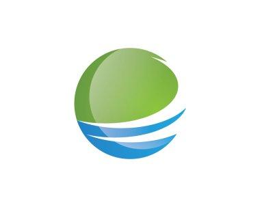 Finance logo wave