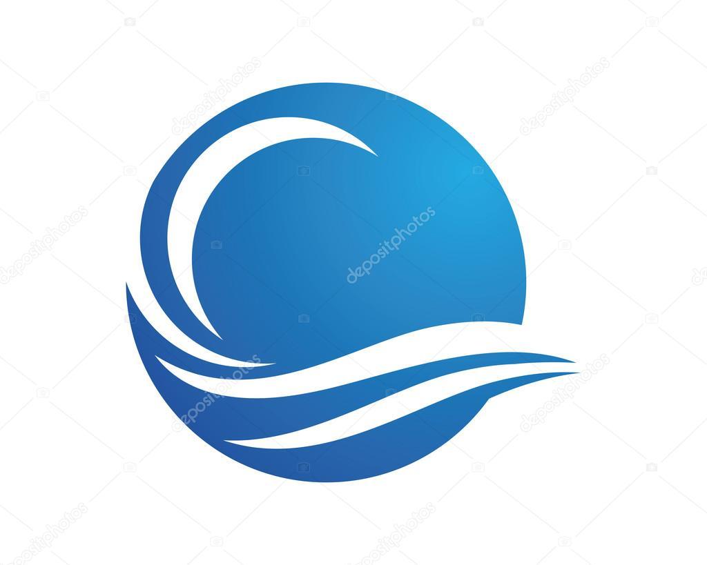 Wave Logo Template