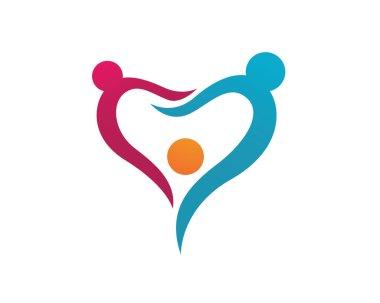 Adoption Care Logo Template
